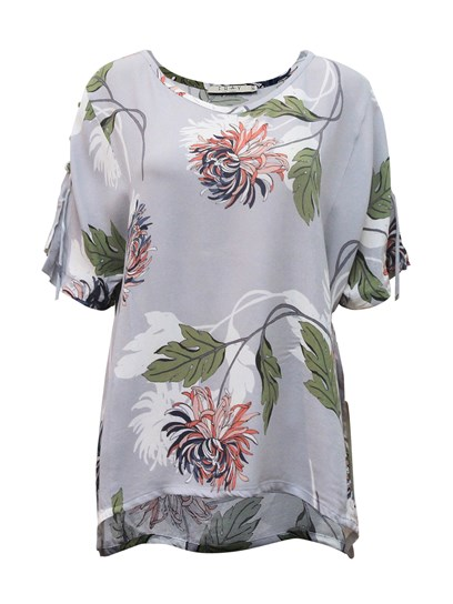 ABBY FLORAL TOP
