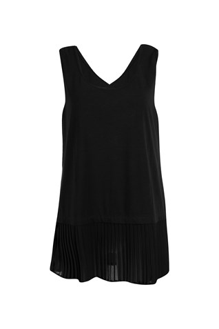 REVERSIBLE PLEAT TANK