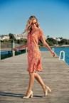CARDAMON DRESS - orange