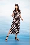 TANGENT DRESS - print