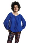 BLOUSE - azul blue