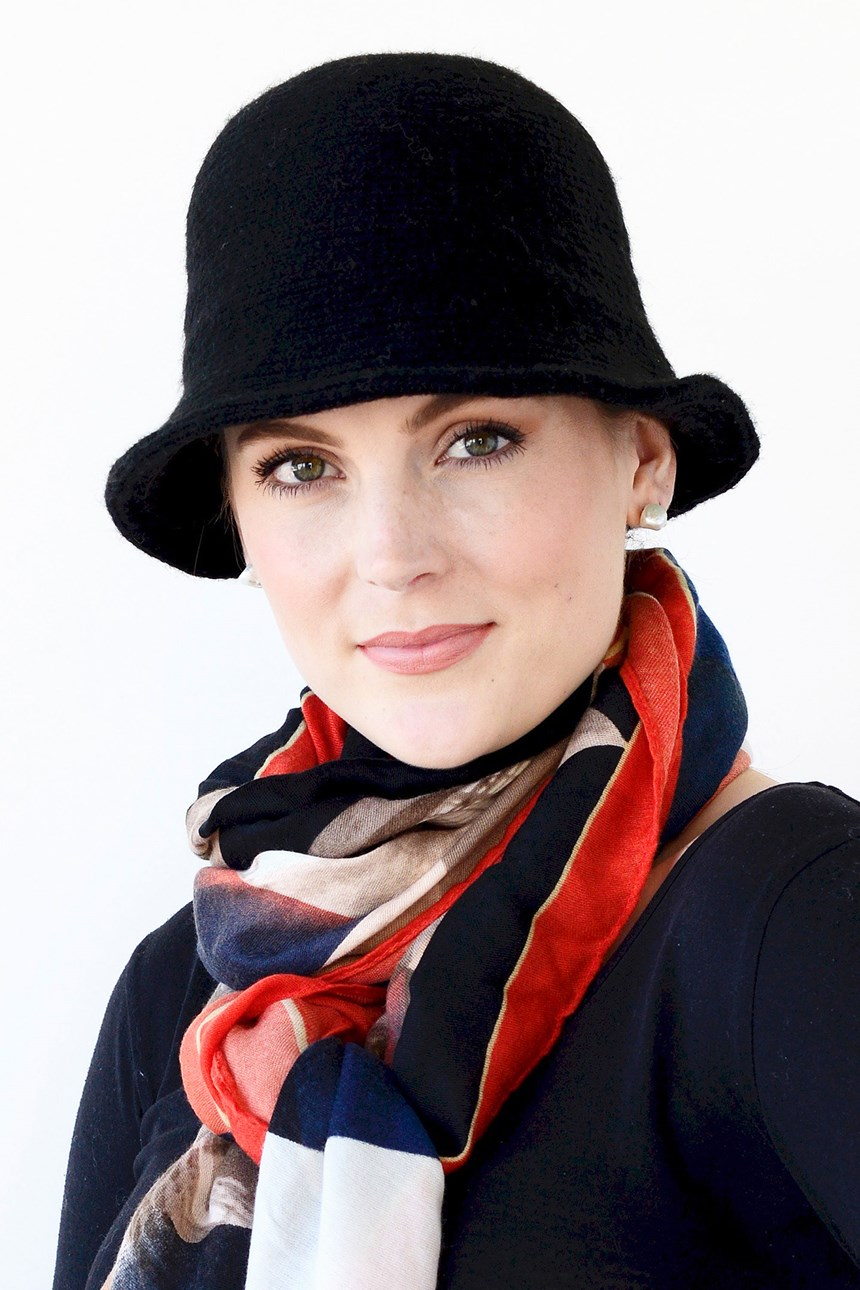 RIBBED WOOL HAT