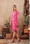 GIA SHIFT DRESS - pink
