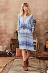 MICAH DRESS - blue