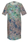 HARPER DRESS - mosaic prt