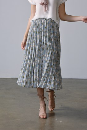 FLORENCE PLEAT SKIRT
