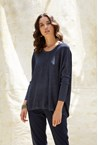 LUXE LUREX SWEATER - midnight