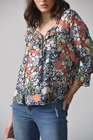 FABIA FRILL BLOUSE