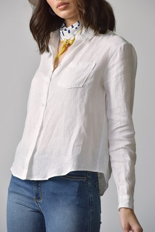 DALLAS LINEN BLOUSE