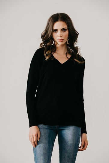 DEEP V BAND TOP