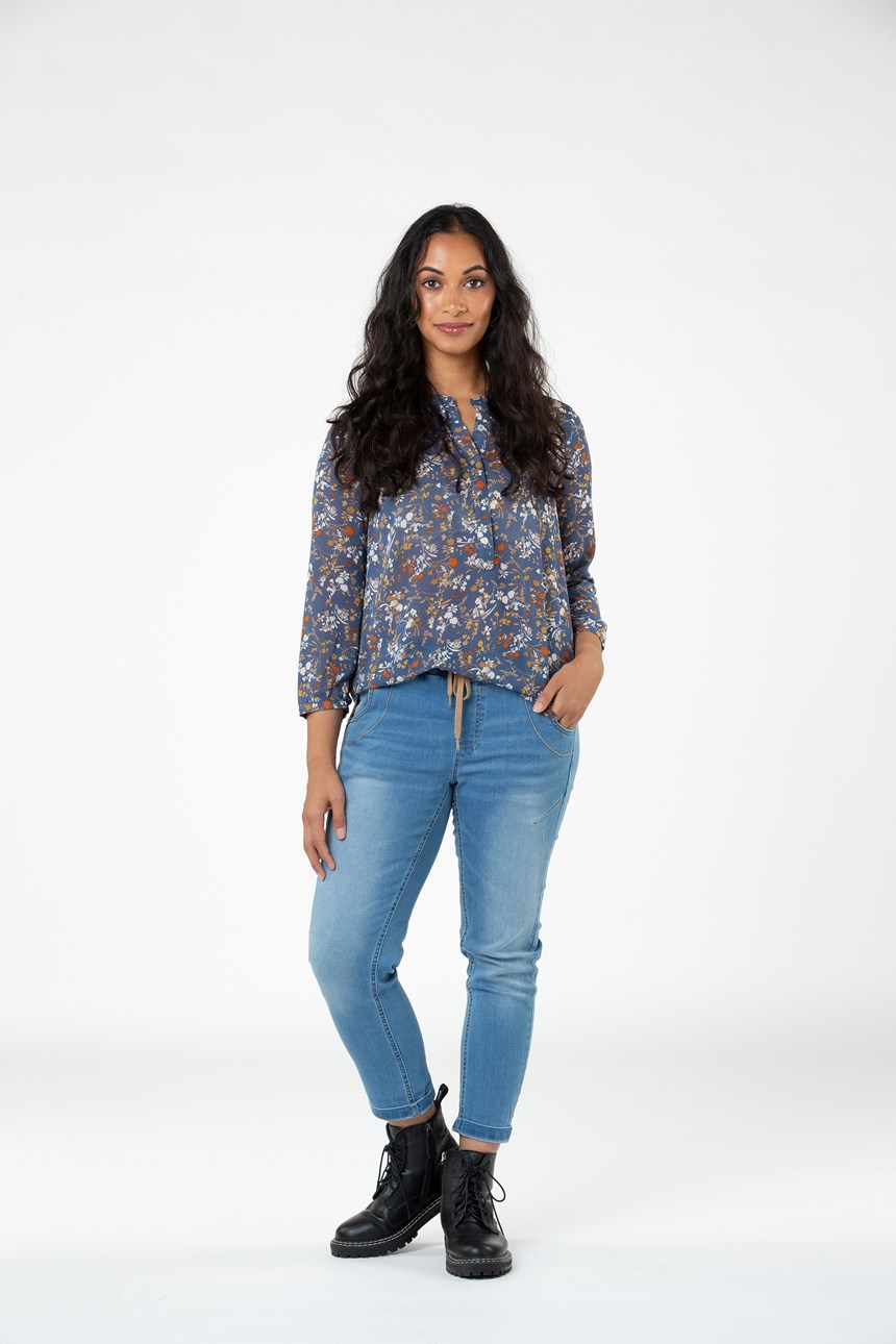 FLORENCE PLEAT BLOUSE