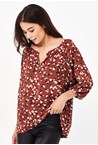 LILY BLOUSE - nutmeg mul